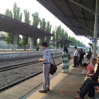 Photo taken at KTM Line - Kajang Station (KB06) by Mohd Faudzi N. on 10/9/2012