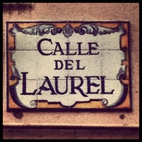 Photo taken at Calle Laurel by Daniel M. on 9/23/2012