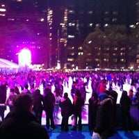 Photo taken at Bank of America Winter Village at Bryant Park by Reinaldo D. on 11/24/2012