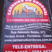 Photo taken at Carneiro do Ordones by Wellington A. on 3/19/2013
