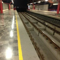 Photo taken at Metrorrey Estación Anáhuac by Rodrigo_Raul on 1/18/2013
