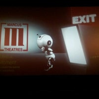 Photo taken at Marcus Hollywood Cinema by NICHOLAS W. on 10/9/2012
