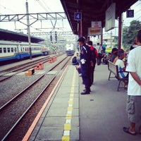 Photo taken at Stasiun Jatinegara by Ardhaa P. on 2/20/2013