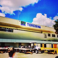 Photo taken at Aeroporto de Teresina / Senador Petrônio Portella (THE) by Rafael H. on 5/13/2013