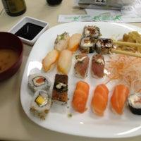 Photo taken at Wok Sushi by Thiago C. on 1/28/2013