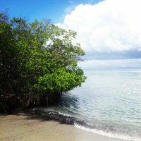 Photo taken at Playa El Paraíso by Salvador on 1/12/2013