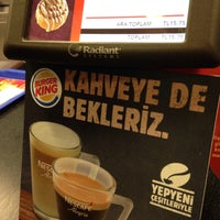 Photo taken at Burger King by Ahmet B. on 3/18/2016