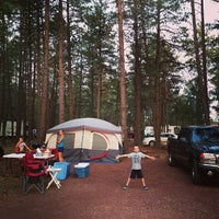 Photo taken at Woody Mountain Campground by Clintus M. on 7/6/2013