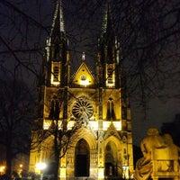 Photo taken at Basilique Sainte-Clotilde by david s. on 12/29/2012