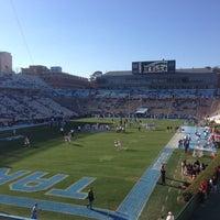 Photo taken at Kenan Memorial Stadium by Ben C. on 11/24/2012