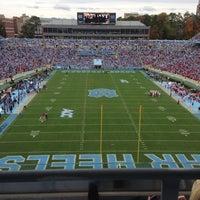Photo taken at Kenan Memorial Stadium by Ben C. on 10/27/2012