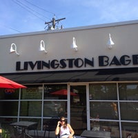 Photo taken at Livingston Bagel by ilan a. on 6/17/2014