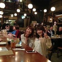 Photo taken at Gonpachi Nishiazabu by 近久 智. on 3/7/2013