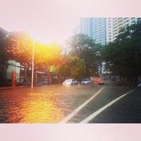 Photo taken at Pablo Ocampo Sr. Avenue by leiko l. on 8/20/2013