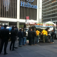 Photo taken at The Halal Guys by Sharifa A. on 10/12/2012