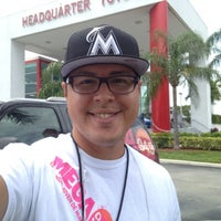 Photo taken at Headquarter Toyota by DJ Germain on 6/27/2014