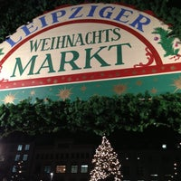 Photo taken at Leipziger Weihnachtsmarkt by Joachim G. on 12/20/2012