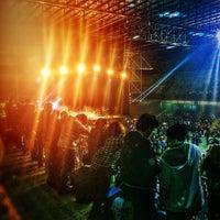 Photo taken at Estadio Malvinas Argentinas by Javier G. on 8/8/2015