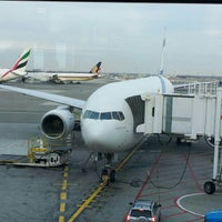 Photo taken at Gate B31 by Alex B. on 12/31/2012