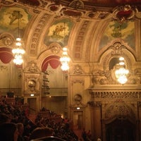 Photo taken at The Chicago Theatre by Masayo K. on 10/18/2012