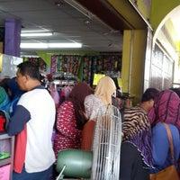 Photo taken at Zaleha Textiles by Saudagar R. on 8/7/2013