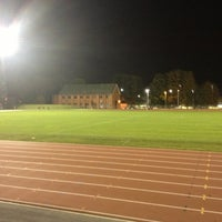 Photo taken at Aldershot Military Stadium by Angus B. on 10/9/2012