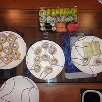 Photo taken at Mikan Sushi Santiago by jacqueline j. on 1/25/2014