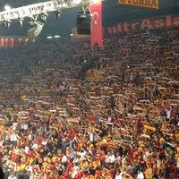 Photo taken at Abdi İpekçi Arena by Buğra B. on 10/24/2013