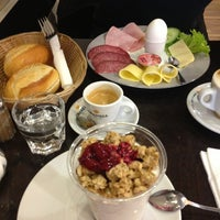 Photo taken at Bäckerei Café Tuna by Evgeniya S. on 3/22/2014