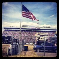 Photo taken at Martinsville Speedway by Bradley C. on 4/7/2013