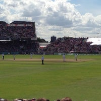 Photo taken at Emirates Old Trafford by Tony S. on 8/9/2014