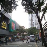 Photo taken at Nam Ning Street 南寧街 by Baldwin N. on 4/17/2014