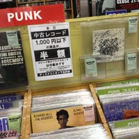 Photo taken at Disk Union by aiko t. on 11/4/2012