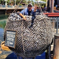 Photo taken at Pacific Wharf by Jen R. on 8/23/2013