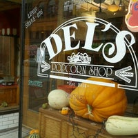 Photo taken at Del's Popcorn Shop by Rhonda S. on 11/11/2012