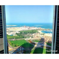 Photo taken at Jumeirah at Etihad Towers by Nawaf A. on 2/3/2013