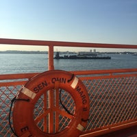 Photo taken at Staten Island Ferry Boat - John J. Marchi by Maryna B. on 7/21/2016
