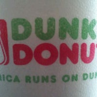 Photo taken at Dunkin' Donuts / Baskin-Robbins by Asheley . on 11/15/2012
