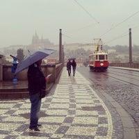 Photo taken at Mánesův most by Jenda Š. on 6/1/2013