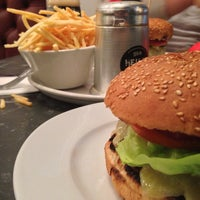 Photo taken at Gourmet Burger Kitchen by Gizem on 10/4/2013