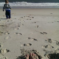 Photo taken at Robert Moses State Park - Field 5 by Jackie M. on 4/9/2014