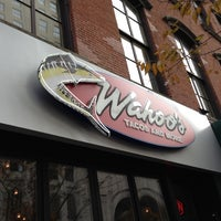 Photo taken at Wahoo's Tacos & More by Steffen B. on 11/19/2012