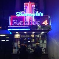 Photo taken at Laemmle's Monica Fourplex by Andrew R. on 1/30/2013