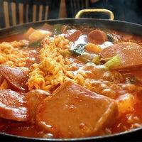 Photo taken at Hosoonyi Korean Restaurant by Frank on 6/30/2013