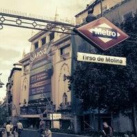 Photo taken at Plaza de Tirso de Molina by Consuelo P. on 9/18/2012