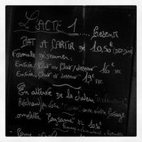 Photo taken at L'acte 1 by Aurélie D. on 3/22/2013