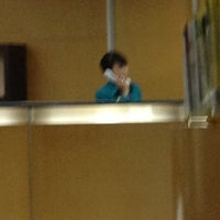 Photo taken at Bank Bukopin S.Parman, Jakarta by Si D. on 10/25/2012