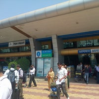 Photo taken at Pune International Airport (PNQ) by Ajith N. on 3/11/2013