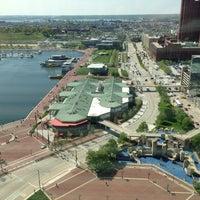 Photo taken at Inner Harbor by Caz G. on 4/25/2013