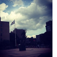 Photo taken at Marsh Plaza by Chloé S. on 9/2/2014